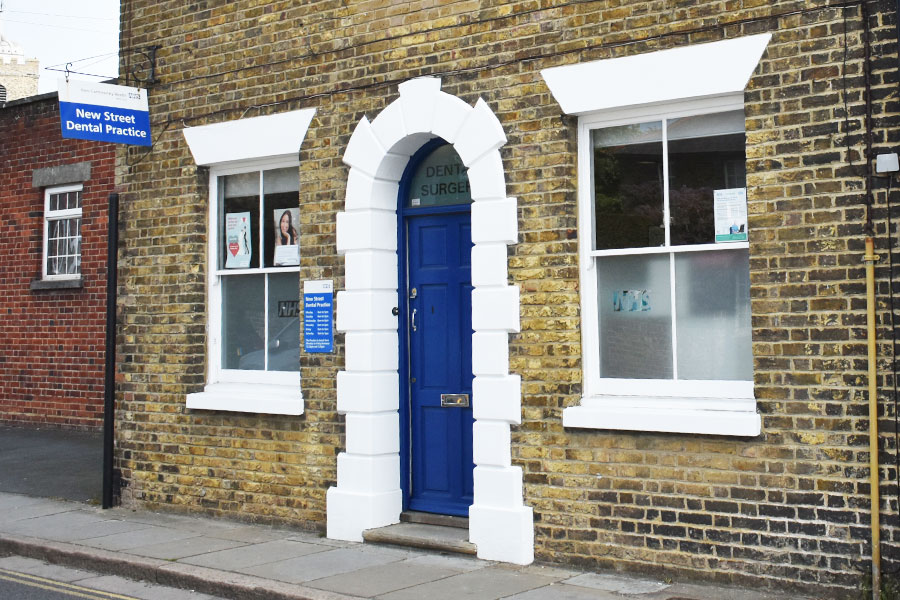 New Street Dental Practice front